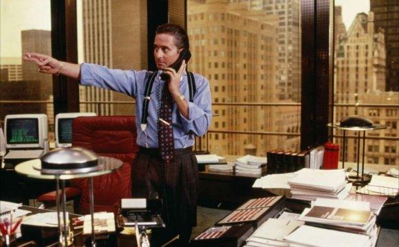 Кадр из фильма «Уолл-стрит»