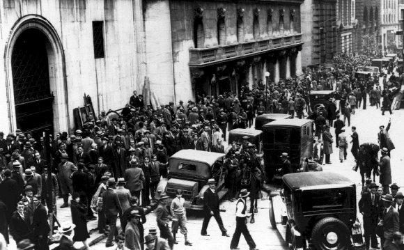 1929 сша фондовый рынок кризис