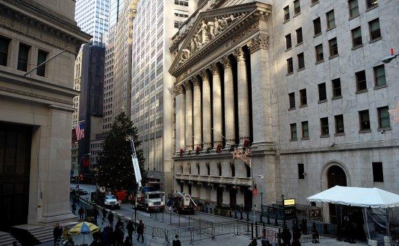 Нью-Йоркская фондовая биржа на